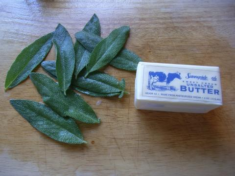 Sage and butter