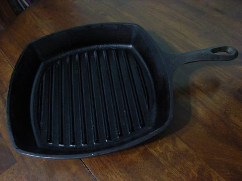 grilled pan