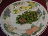 BakeEgg with Peas